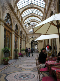 Galerie Vivienne in Paris has been restored to Belle Epoque splendor.
