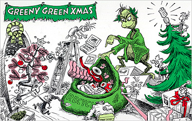 The Al Gore Grinch is jolly and green - with an genda.