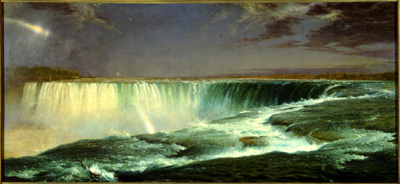 Frederick Edwin Church. Niagara. 1857. Corcoran Gallery of Art, Washington, D.C.