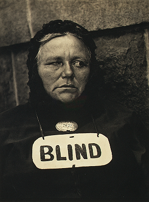 Paul Strand. Blind. 1916. Metropolitan Museum of Art, New York.