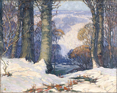 Robert H. Whitmore. Licking Valley. 1919. Dayton Art Institute.