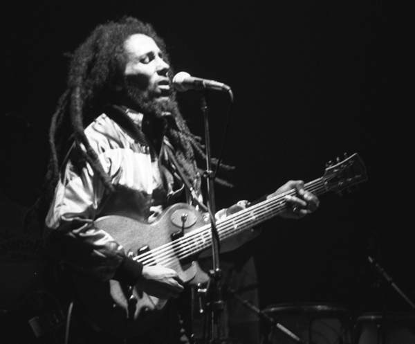 Bob Marley performs in concert in Zurich on May 30, 1980. [Source: Wikimedia Commons]