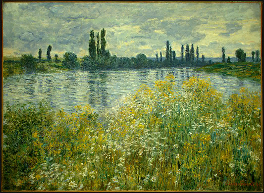 Claude Monet. Banks of the Seine, Vétheuil. 1880. National Gallery of Art, Washington, D.C.