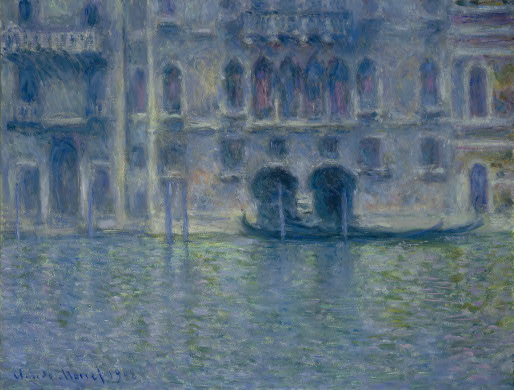 Claude Monet. Palazzo da Mula, Venice. 1908. National Gallery of Art, Washington, D.C.