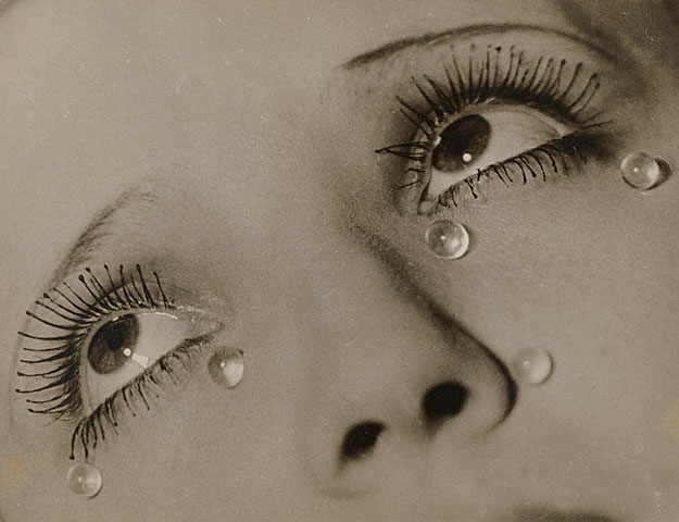 Man Ray. Tears. 1920-32. [Source: Getty Museum