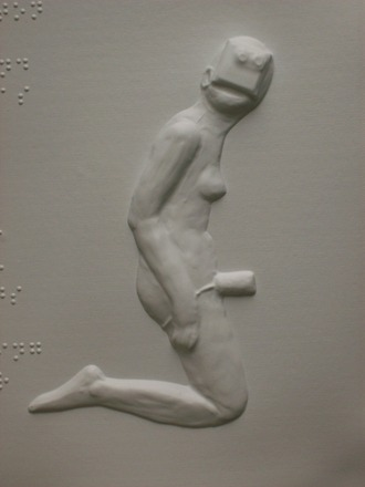 "Nude image from ""Tactile Mind""  by Lisa J. Murphy"