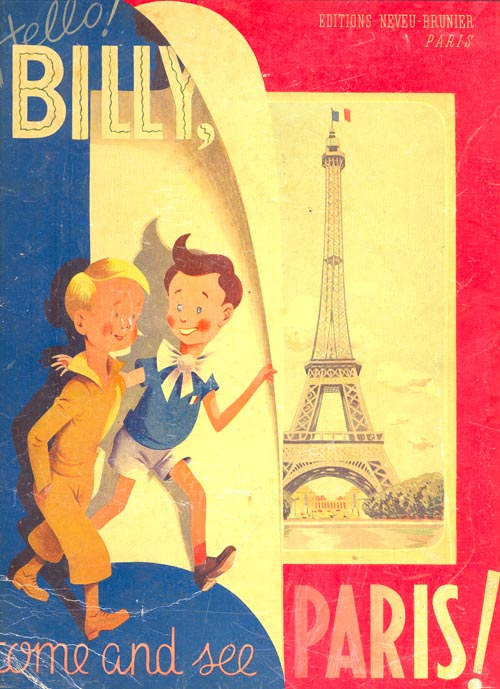 "Book cover of ""Hello, Billy: Come and See Paris!"" (145)"