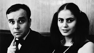 Artists Rotraut and Yves Klein ca. 1962. [Source: Catherine Cabeen and Company]