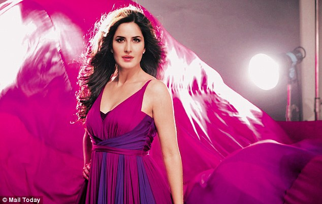 Blind photographer Bhavesh Patel snapped this glamor shot of Bollywood movie star Katrina Kaif for the Lux Perfume Portraits ad campaign. [Image source: Daily Mail]